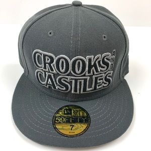 Crooks and Castles New Era Hat Sz 7